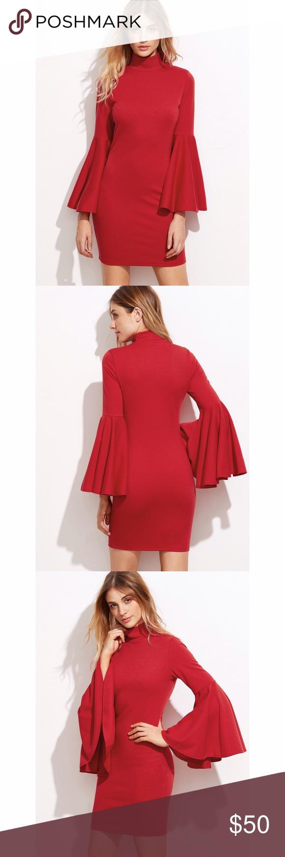 Nwt zara red bodycon dress zara dresses bodycon dress and minis