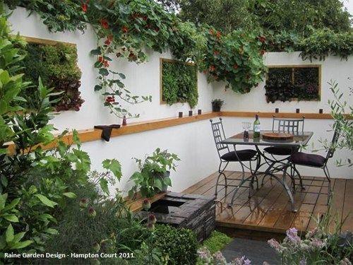 Jardines verticales y huertos urbanos terrazas for Antejardines pequenos