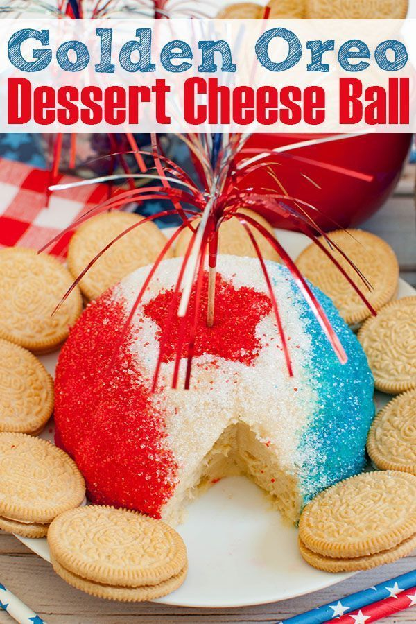 Easy, no bake patriotic dessert for your Memorial Day, 4th of July, or Labor Day party. Red White &