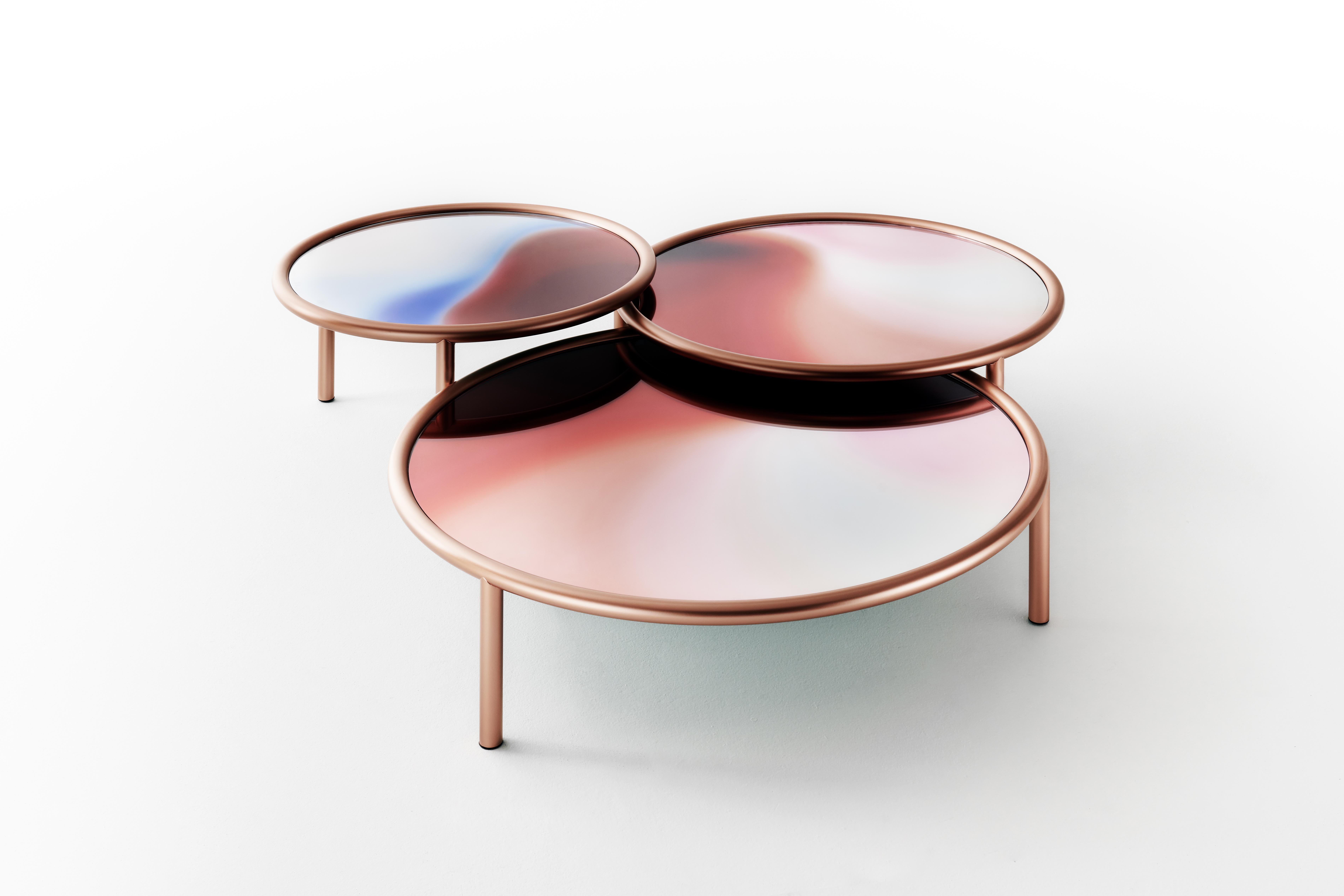Designs Archive Patricia Urquiola Round Glass Coffee Table Glass Coffee Table Milan Design Week [ jpg ]