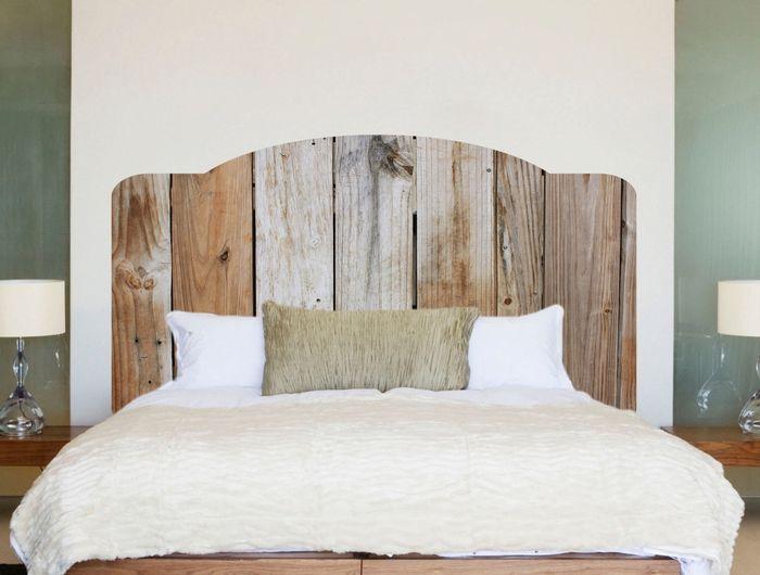 ▷ 1001 + idées pour fabriquer une tête de lit en bois ...