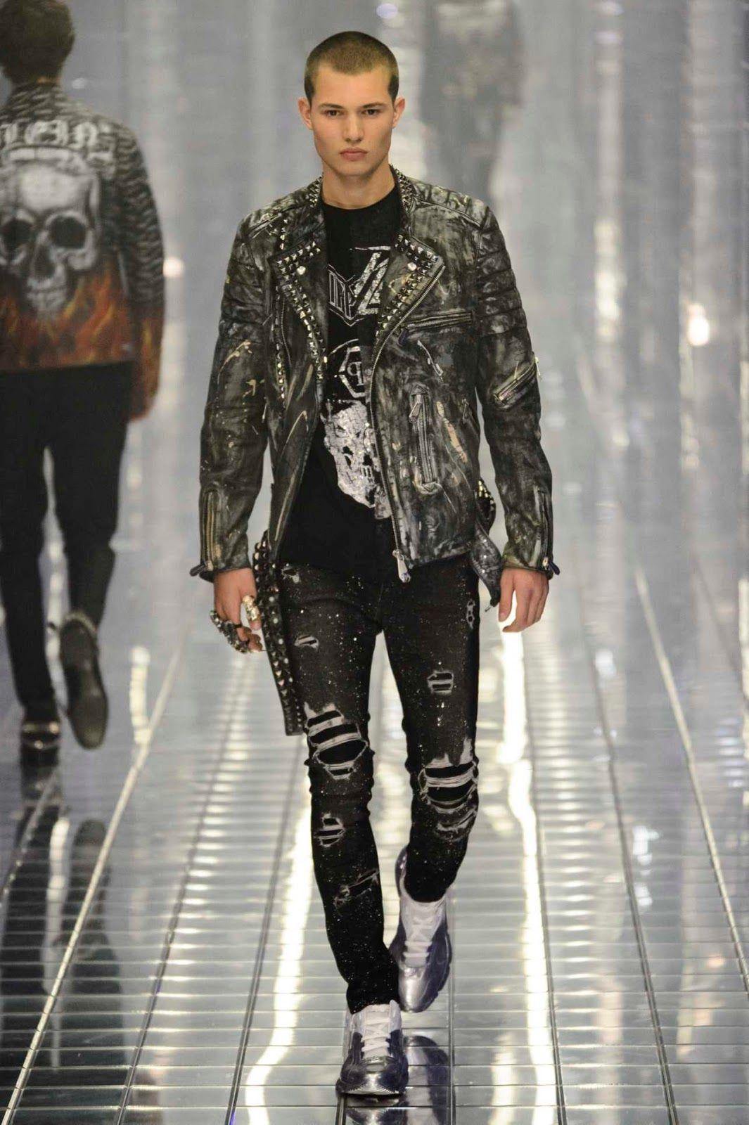 Male Fashion Trends  Philipp Plein Spring-Summer 2019 Runway Show 944475319f87