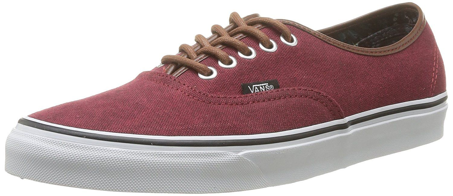 2d4fc78f7a Vans Womens Authentic (Washed CandL) Skate Shoe Rumba Red Size 9     You  can get additional details at the image link. (This is an affiliate link  and I ...