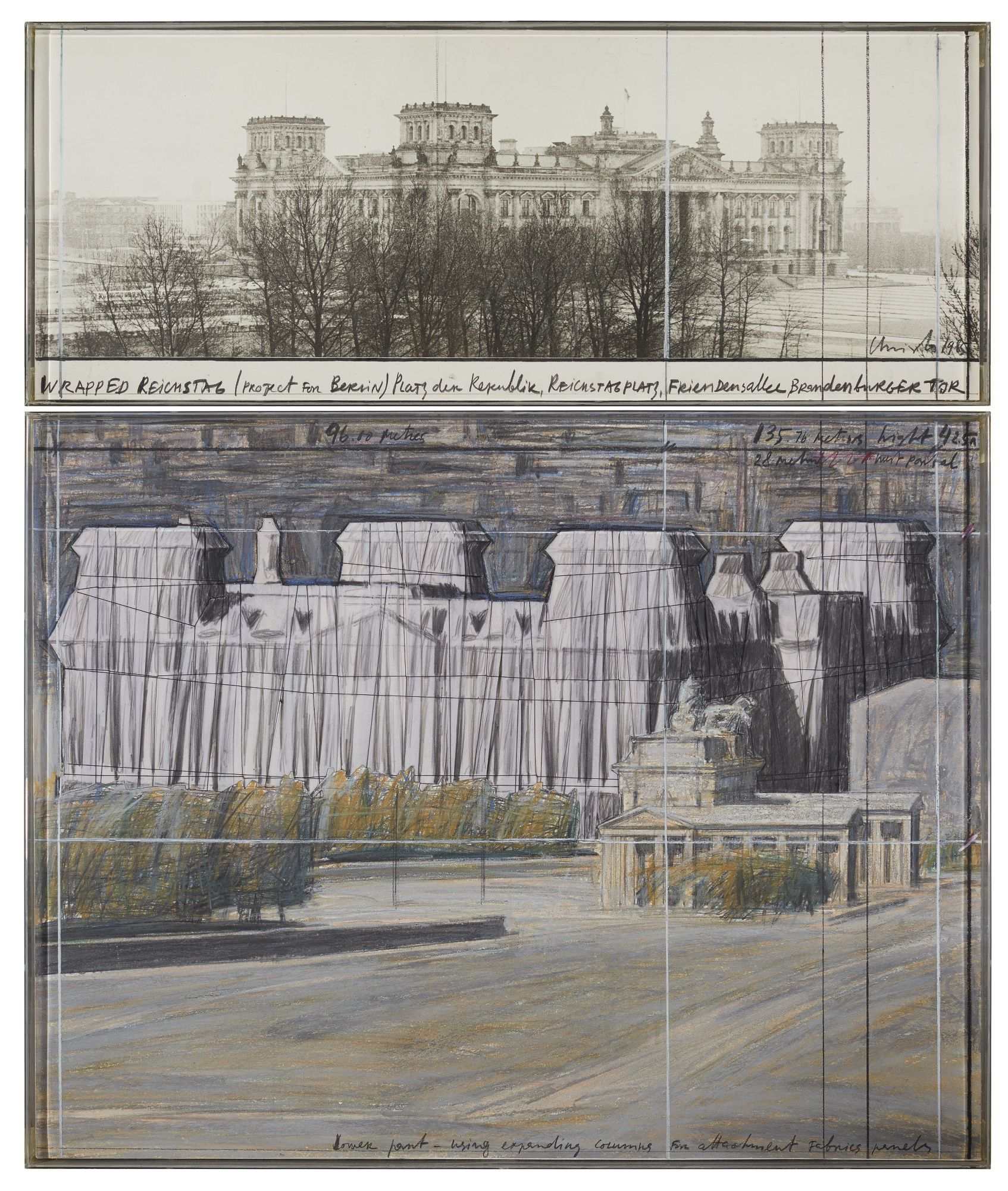 Christo And Jeanne Claude Wrap Landscape Sotheby S N10027lot9v9rcen Christo And Jeanne Claude Landscape Latin American Art
