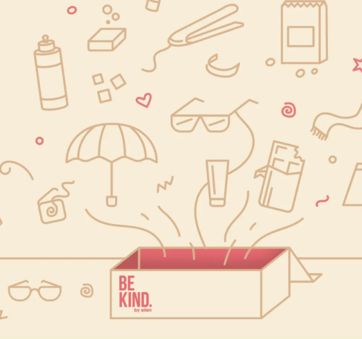 Be Kind By Ellen Summer 2020 Box Full Spoilers Msa In 2020 Kindness Spoiler Most Popular Subscription Boxes