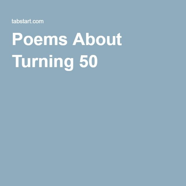 Poems About Turning 50