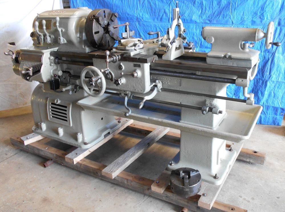 machine shop tools. hendey metal lathe 16 x 7 tool blacksmith machine shop anvil tinsmith 3 \u0026 4 jaw tools s