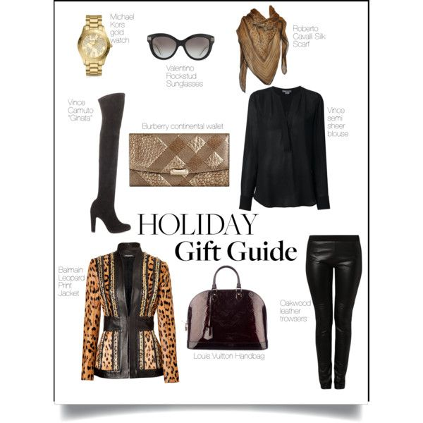 A fashion look from November 2014 featuring Vince blouses, Balmain jackets and Vince Camuto boots. Browse and shop related looks.