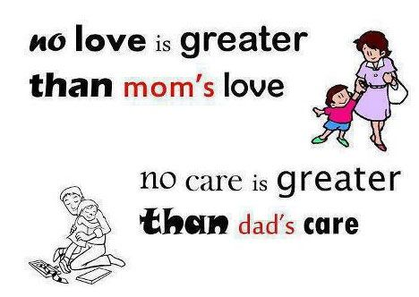 Parents Quotes Of Care No Love Is Greater Than Moms Love
