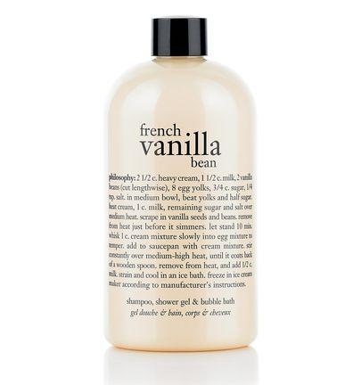 French Vanilla Bean Ice Cream Shampoo Shower Gel French Vanilla Shower Gel Vanilla Bean