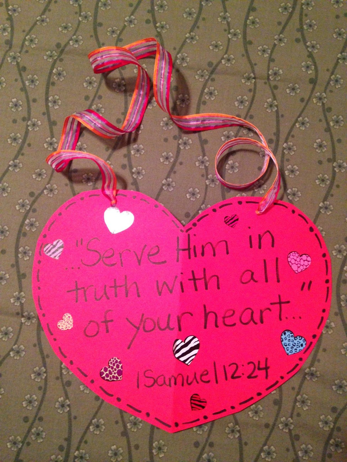 VERSES: 1 Samuel 11:1-12:25 MEMORY VERSE: 1 Samuel 12:24 \