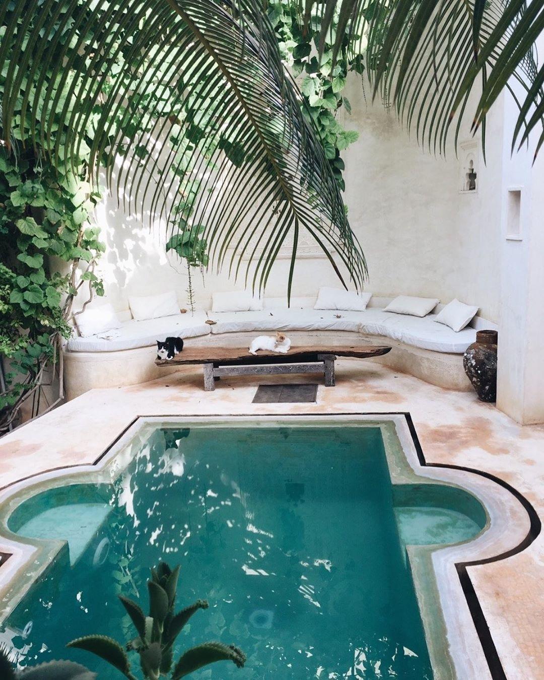Pin By Tiia Kurikka On Yard Dream Pool Indoor Backyard Beach