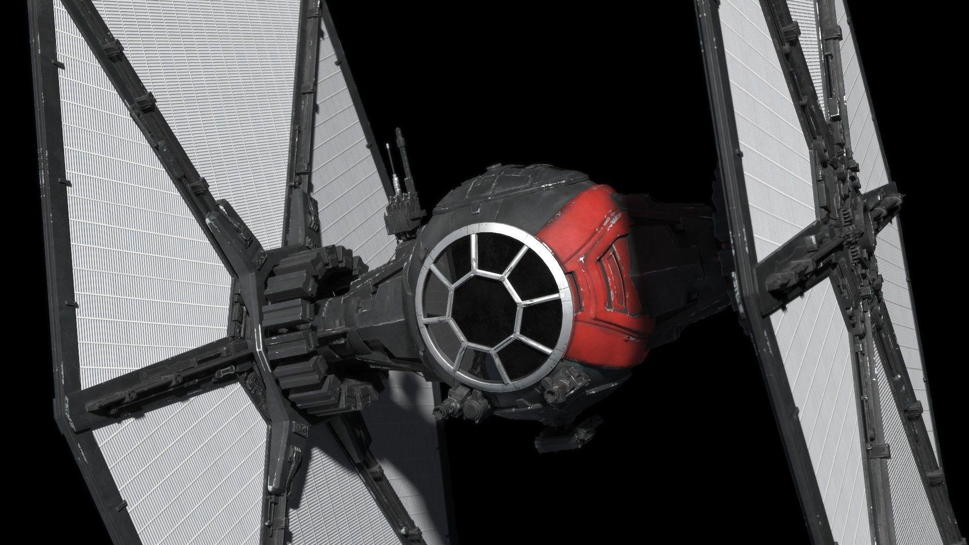 Star Wars First Order Tie Fighter Wallpaper