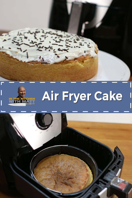 Air fryer cake recipe how to make cake homemade cakes