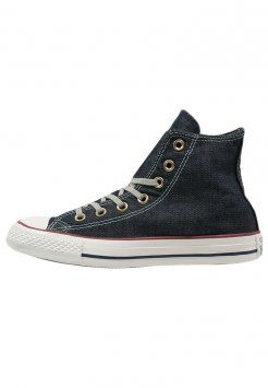 Converse - CHUCK TAYLOR ALL STAR - Sneakers alte - navy denim washed Chuck  Taylors 509751ea3