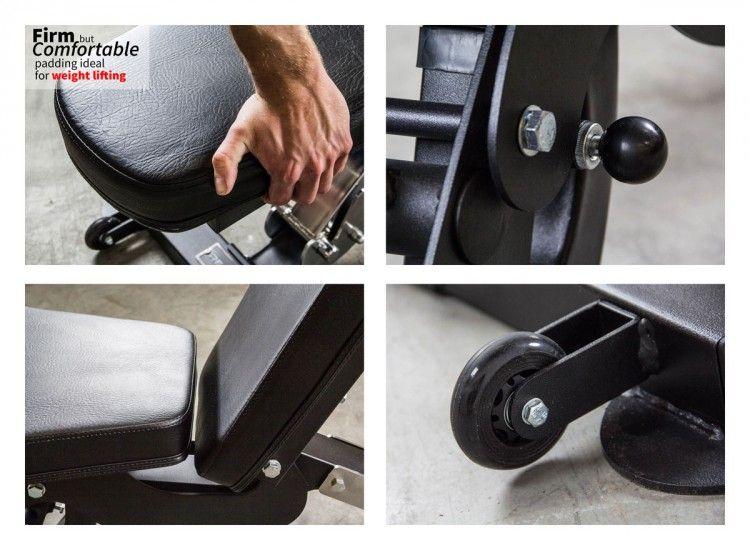 Ab3000 fid adjustable bench em 2020 imagens