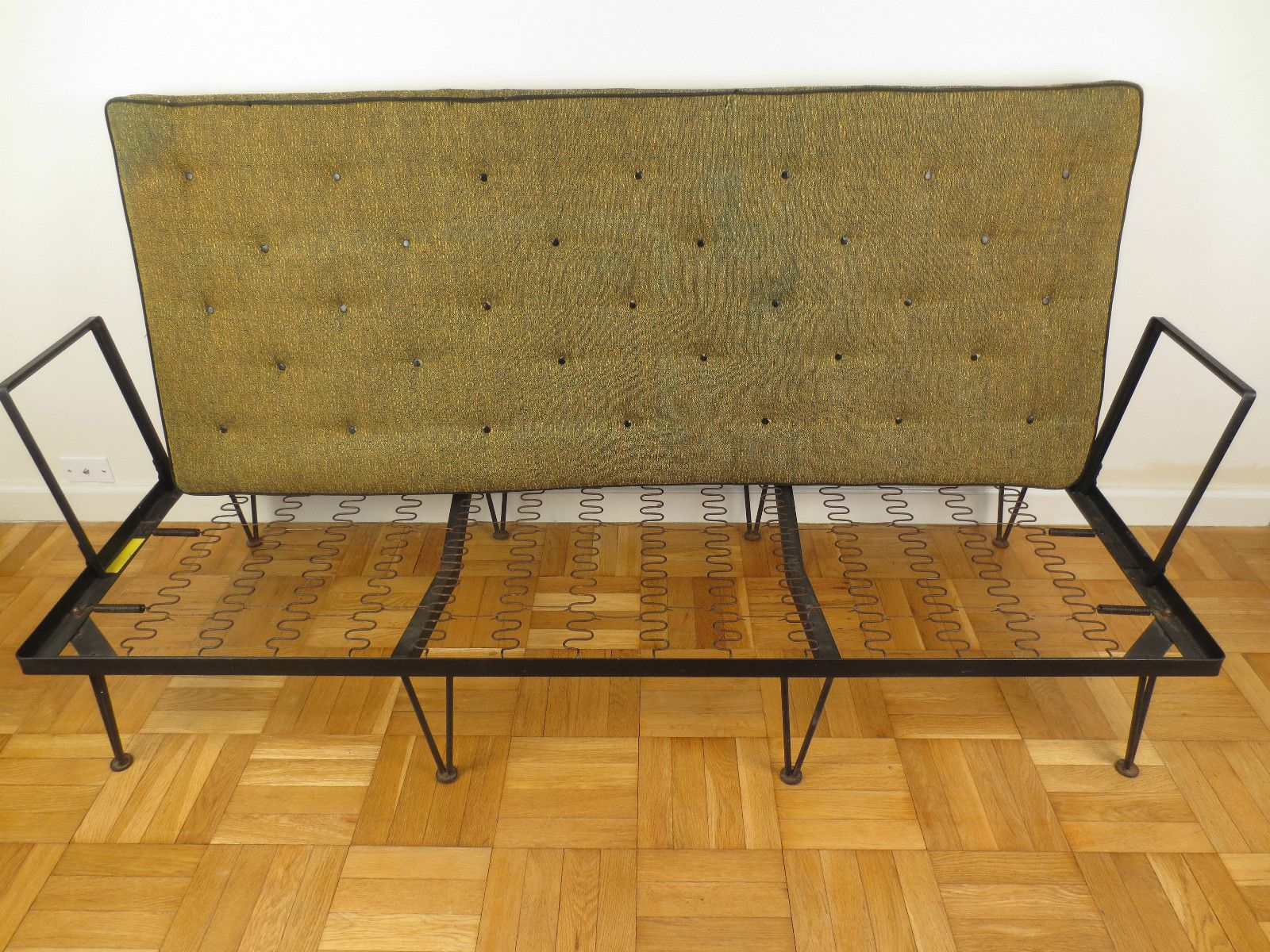 Mid Century Modern Couch Daybed Chaise Sofa Tony Paul Frederick