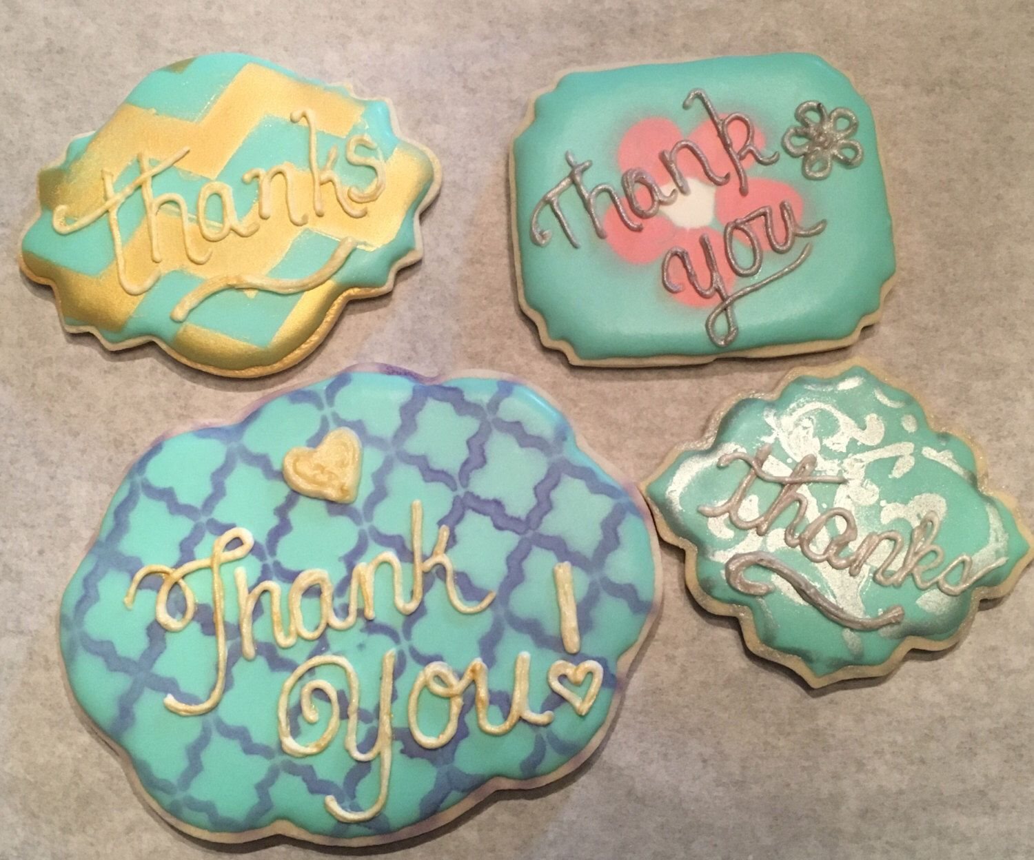 Thank you cookies with images cookies thank you