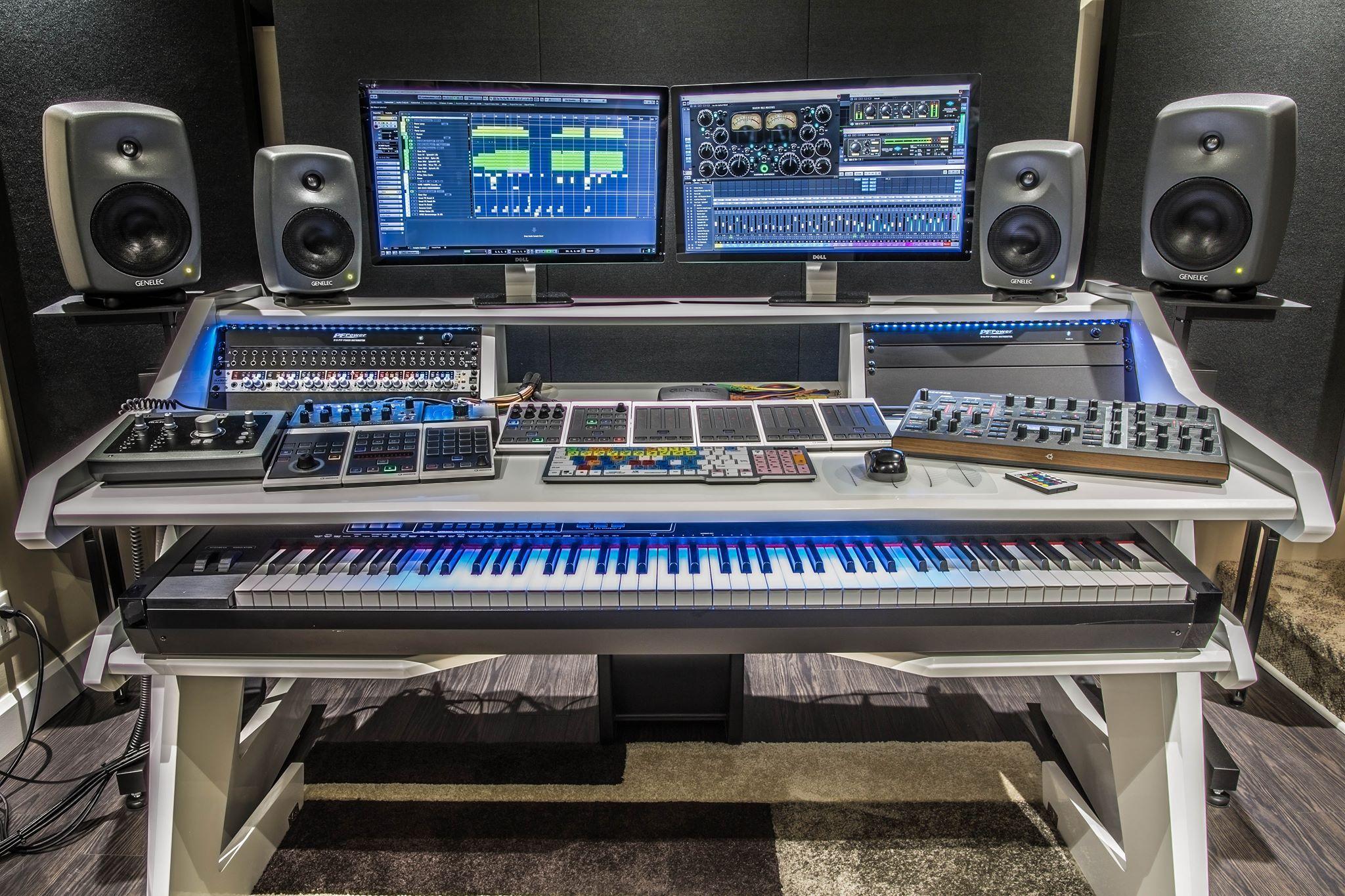 Alexandre Leblanc Awesome Studio Recording Studio Home Recording Studio Design Studio Desk