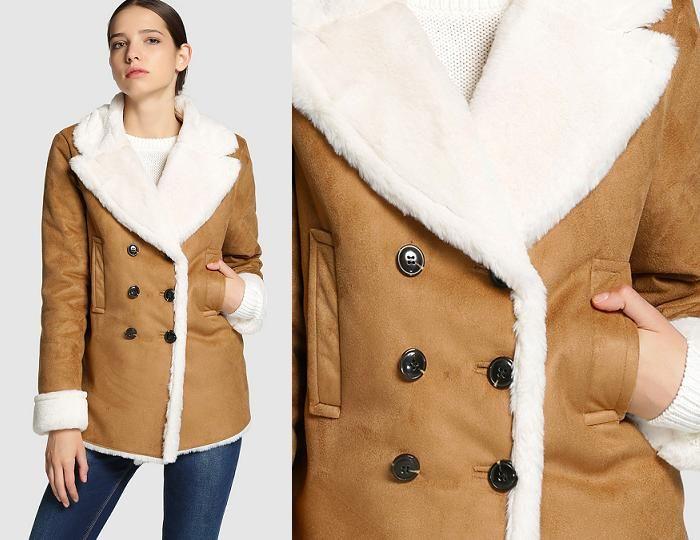 talla 7 busca lo mejor comparar el precio ABRIGO DE PIEL VUELTA EL CORTE INGLES #abrigo ...
