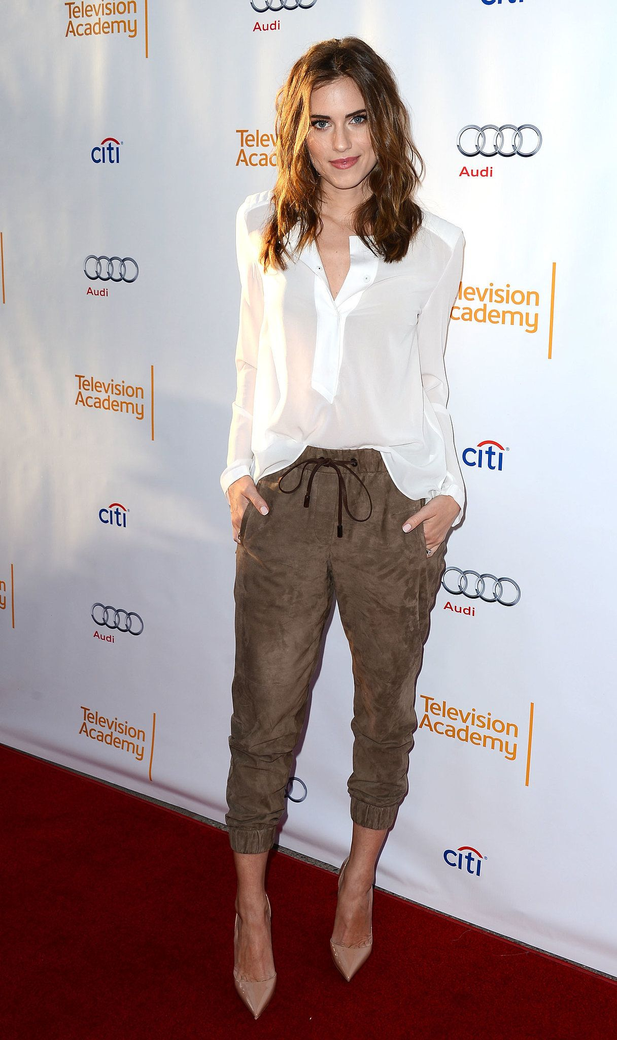 Allison Williams at the Television Academy Presents An Evening With Girls.