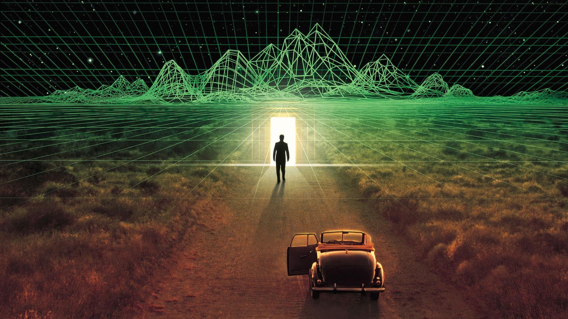 Movies The Thirteenth Floor Abstract Wallpaper Thirteenth Floor Simulation Theory Synthwave