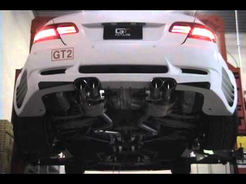 BMW M3 GTHAUS Meisterschaft GTC (EV controlled) Exhaust System Demonstrations. - YouTube