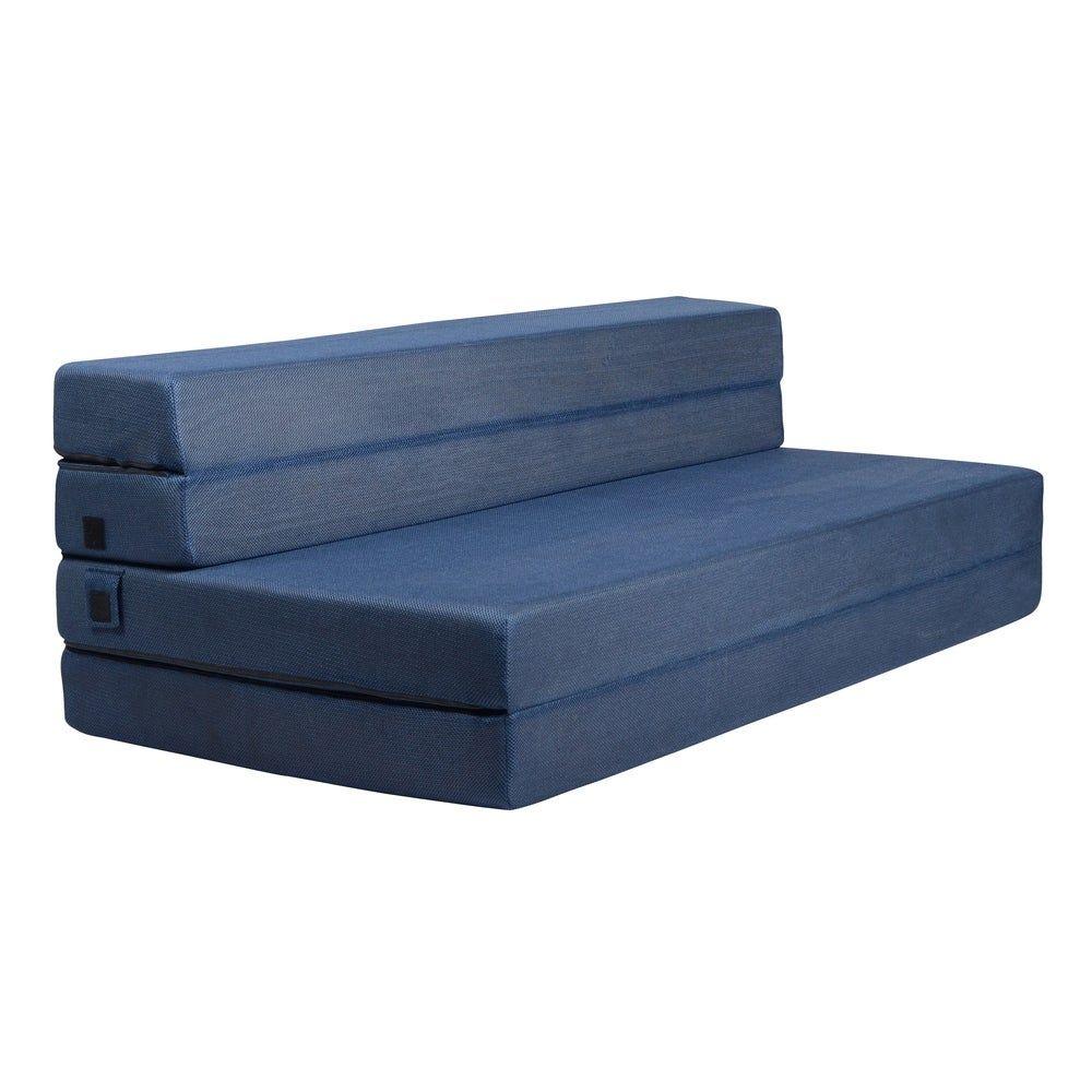 Milliard 4 5 Inch Tri Fold Foam Folding Mattress And Sofa Bed Queen In 2020 Folding Mattress Foam Sofa Queen Size Sofa Bed