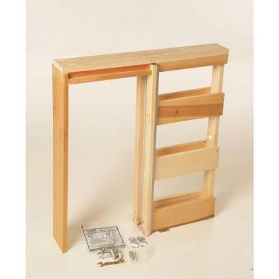 henry pocket frames 28 in knock down wood pocket door frame 28k150 the - Door Frame Home Depot