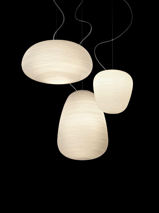 Reinterpreted Japanese Rice Paper Lanterns  Rituals By Foscarini |  DigsDigs. Pendant LampsPendant LightsPendantsPendulum ...