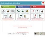 Sort Zoo Animals