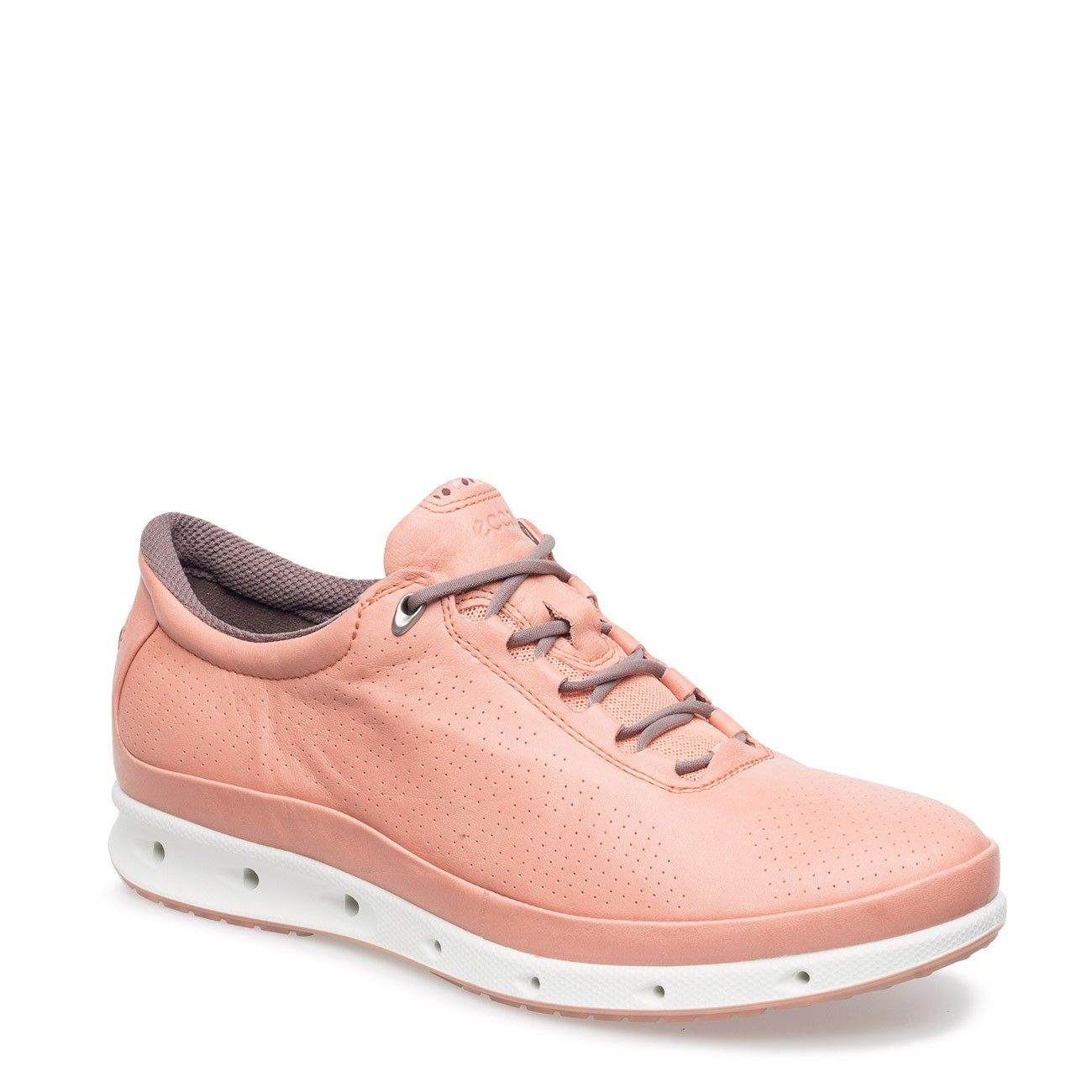 Baby Pink Cool Sneaker by ECCO. Available at Shoes121.