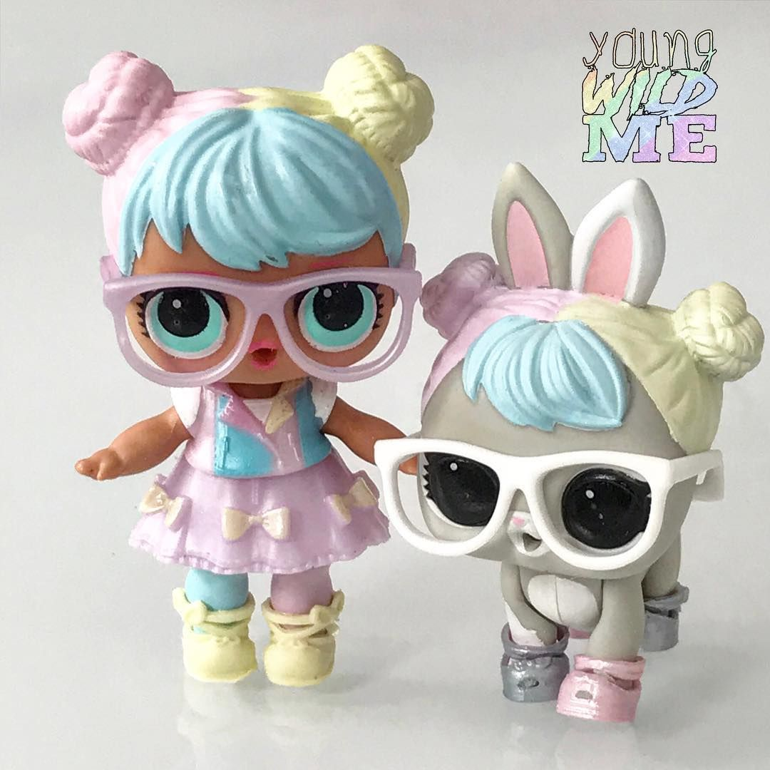 We Were So Happy To Unbox Bon Bon Her Bunny Hop Hop They Are So Cute Together Who Is Your Favorite Doll Pet Combo For Tons O Lol Dolls Cute Toys