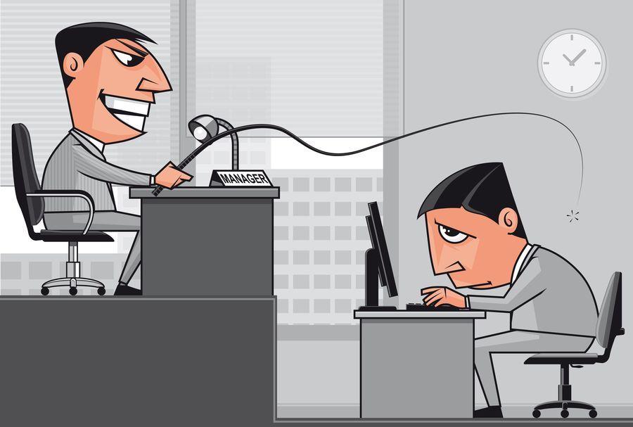 Mobbing en el trabajo vencedores y vencidos    www - home office arbeitnehmer arbeitgeber