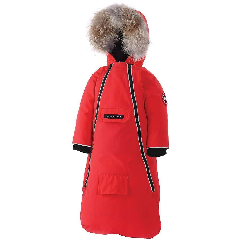 Canada Goose Baby Bunny Bunting - 6-12 M - Red