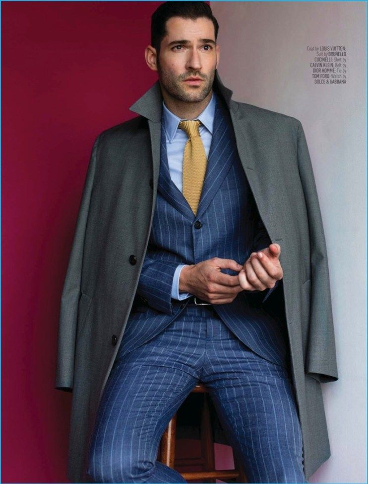 Tom Ellis Suits Up for August Man Malaysia