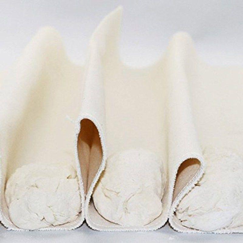 New Linen Kitchen Proofing Cloth Flax Dough Baking Baguette Mat Bread Fermented