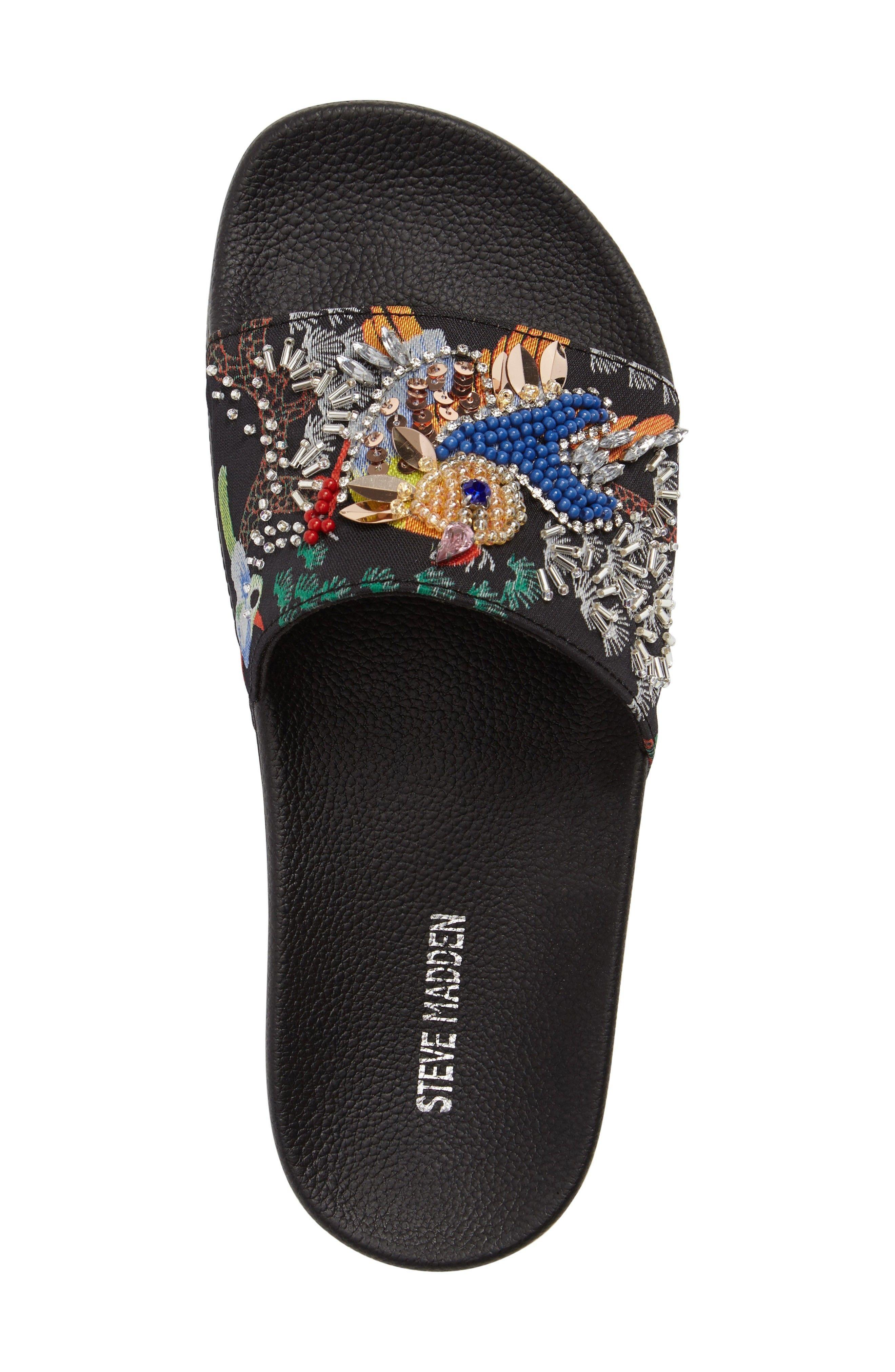 Sparkly Slide Sandal | Sparkly sandals
