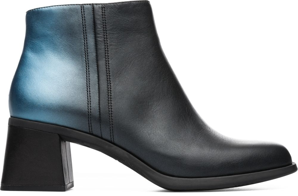 block heel campers ankle boots