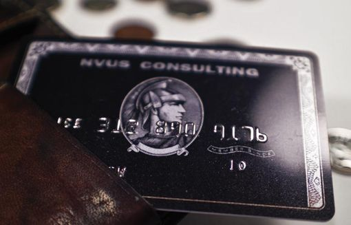 Business card looks like credit card business cards pinterest business card looks like credit card reheart Choice Image
