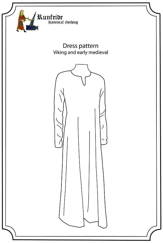 Pattern and sewing instructions for both hand sewing and