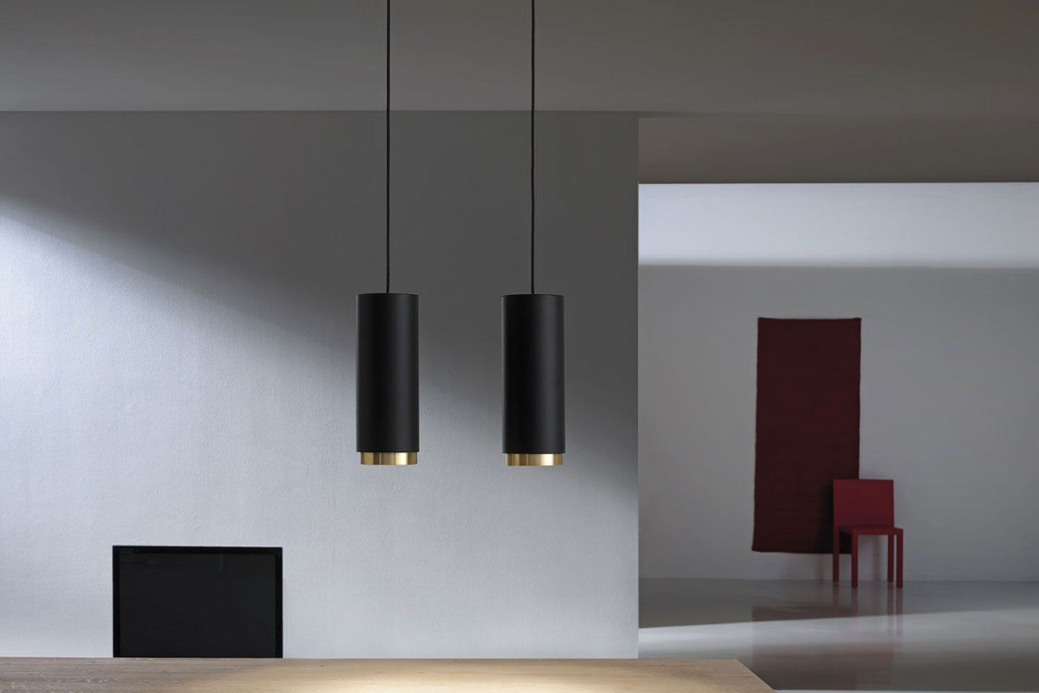 Pop Ø suspended fixture for interior lighting consisting of