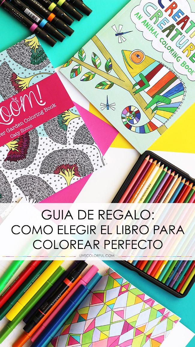 Guía de Regalos: Como Elegir el Libro para Colorear Perfecto ...