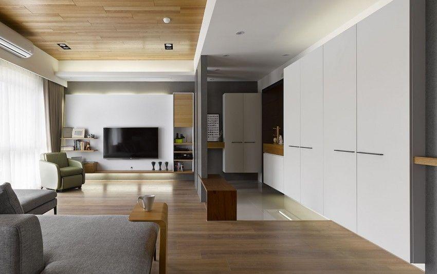 Liu\u0027s Warm House by HOYA Design Interior Pinterest Plafones - diseo de interiores de departamentos