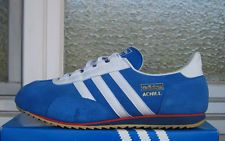 Vgc Adidas Achill Retro Uk 10 5 Sl 72 76 Jeans Trimm Star Trab