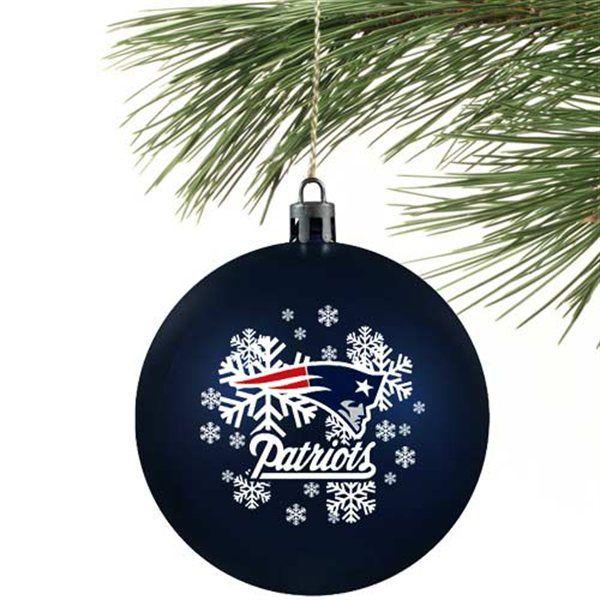 New England Patriots Christmas Ornament - New England Patriots Christmas Ornament New England Patriots