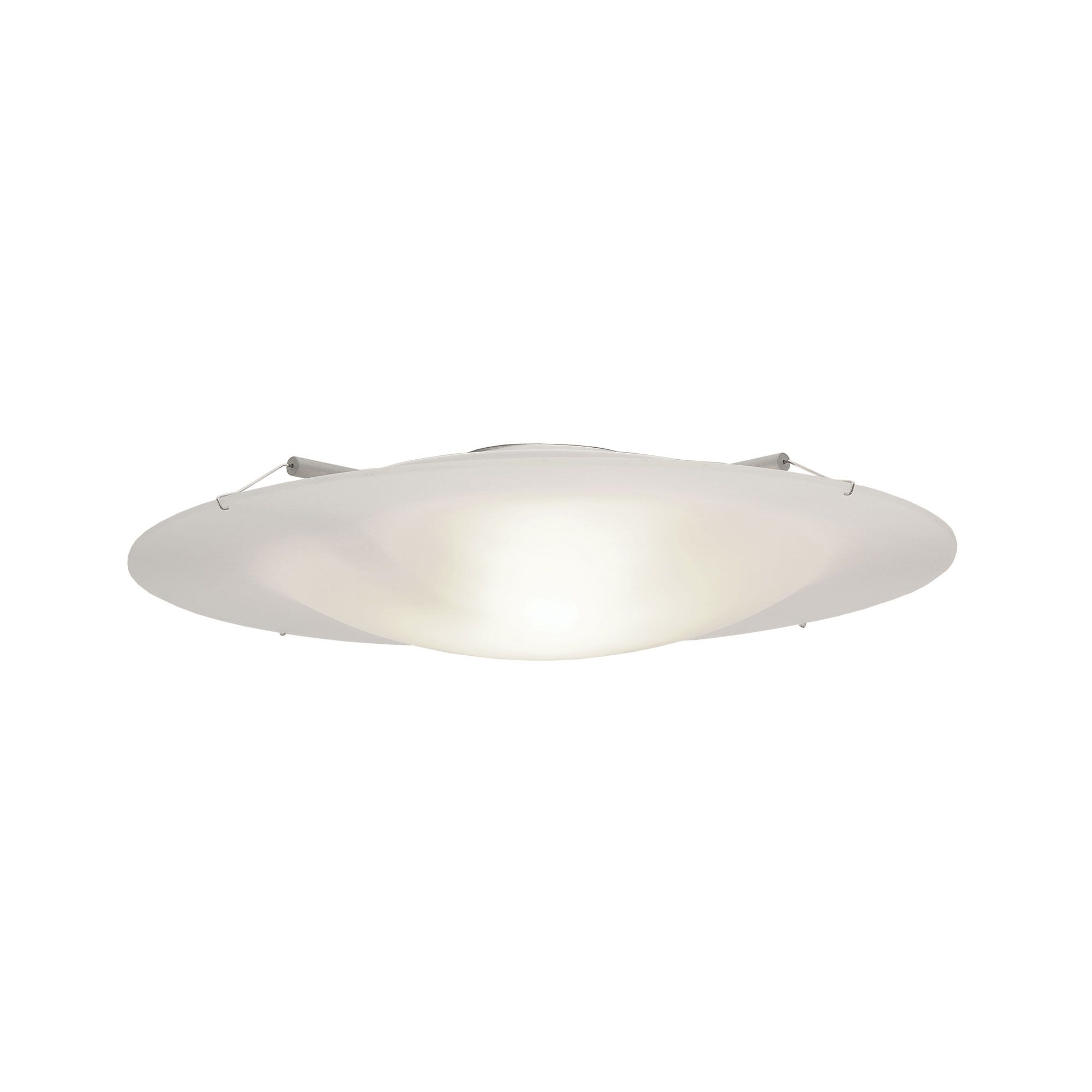 Vanilla Sky 14 Round Halogen Ceiling Light Features A Molded White Glass Diffuser Includes One Ceiling Lights House Ceiling Lights Contemporary Ceiling Light