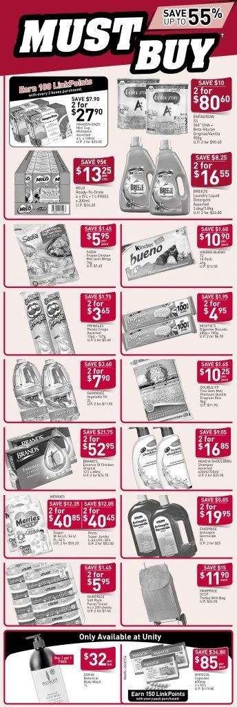 Ntuc Fairprice Singapore Your Weekly Saver Promotion 11 17 Apr 2019 Savers Singapore Promotion