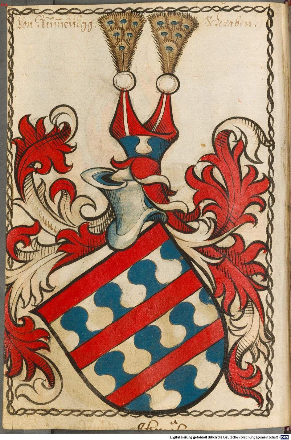 Scheibler'sches Wappenbuch Süddeutschland, um 1450 - 17. Jh. Cod.icon. 312 c  Folio 216
