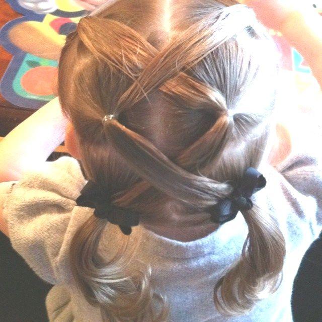 Tag Easy Cute Little Girl Hairdos